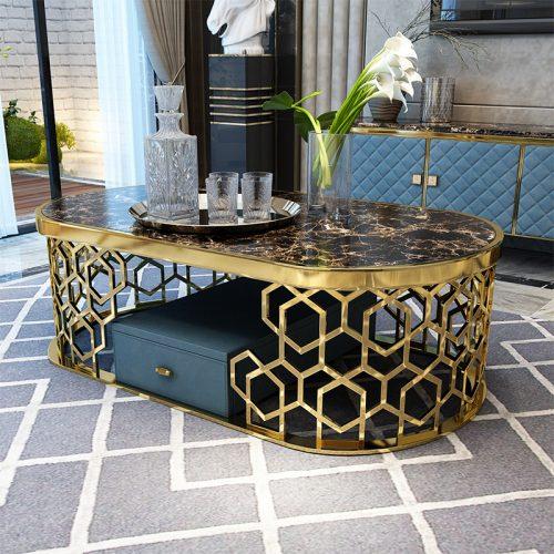 Hình ảnh bàn giao Bàn sofa cao cấp Titian