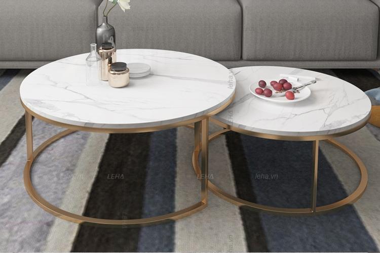 Video – Bàn sofa đôi inox cao cấp